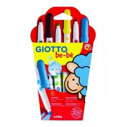6 feutres pour enfants Giotto