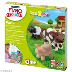 Kit de modelage Fimo Kids Farm